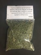 LEMON BALM Dried Magical Herb